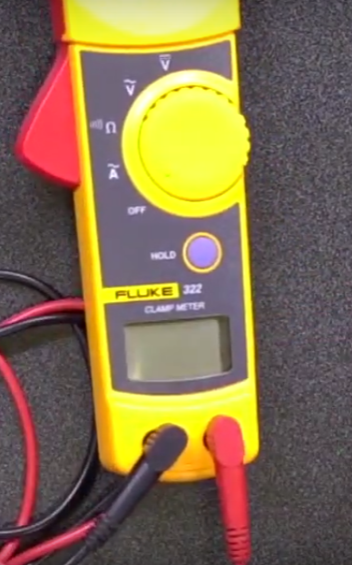 Fluke multimeter jacks